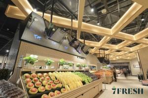 7Fresh - supermarket przyszłości od giganta e-commerce JD.com (galeria)