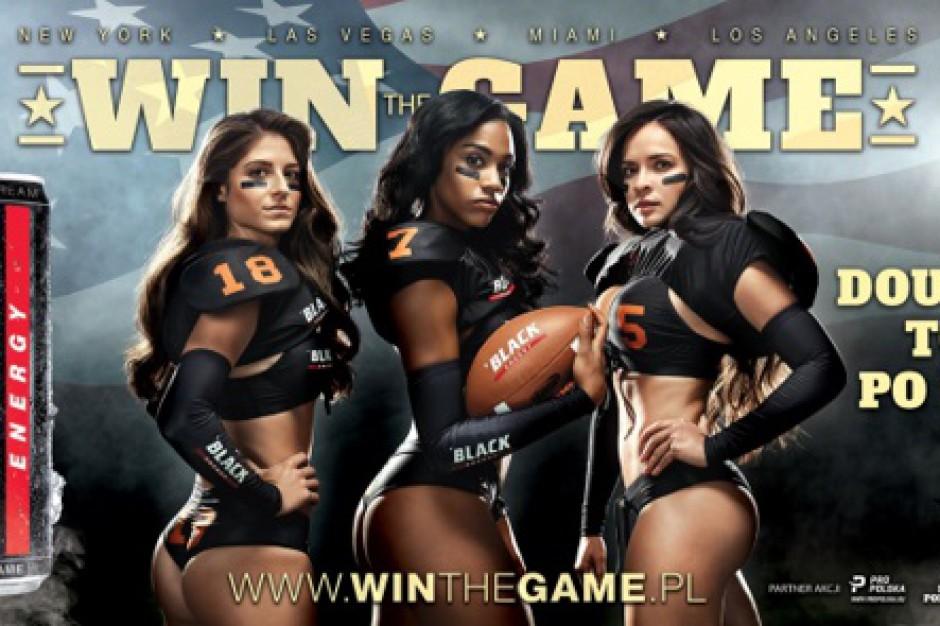 Zawodniczki Legends Football League w kampanii Black Energy Drink