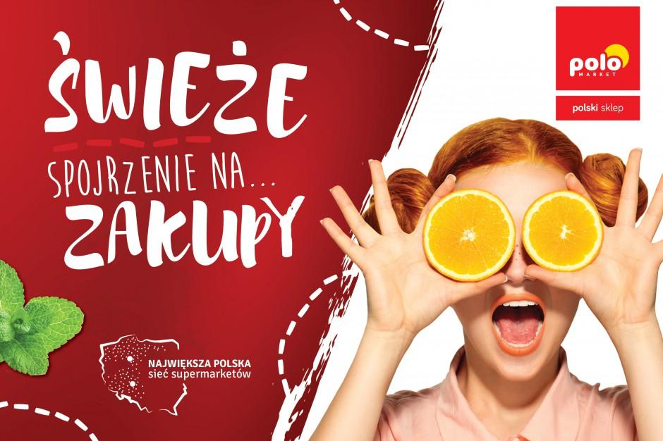 Polomarket startuje z roczną kampanią. Podkreśla świeżość i polskość