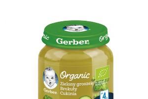 Ekologiczne produkty Gerber Organic