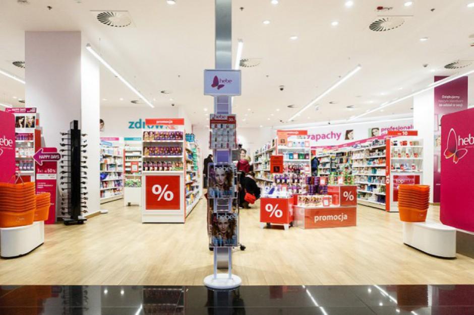 Drogerie Hebe osiągnęły 166 mln euro sprzedaży
