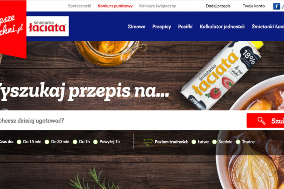 SM Mlekpol z portalem kulinarnym