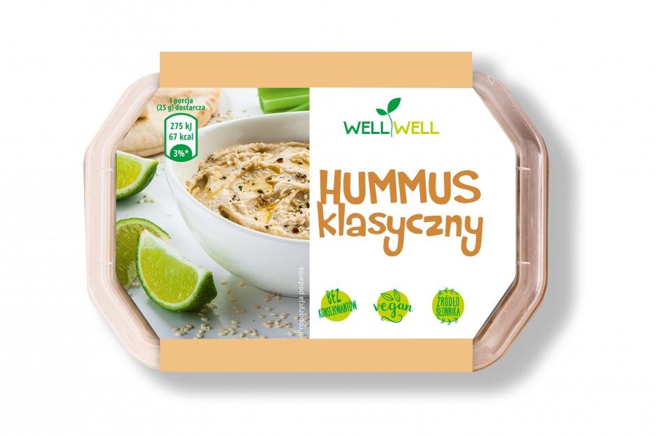 Hummus klasyczny marki Well Well