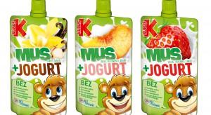 Owoce i jogurt – nowe przekąski od Kubusia