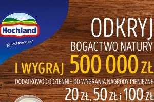 Hochland wspiera sprzedaż loterią