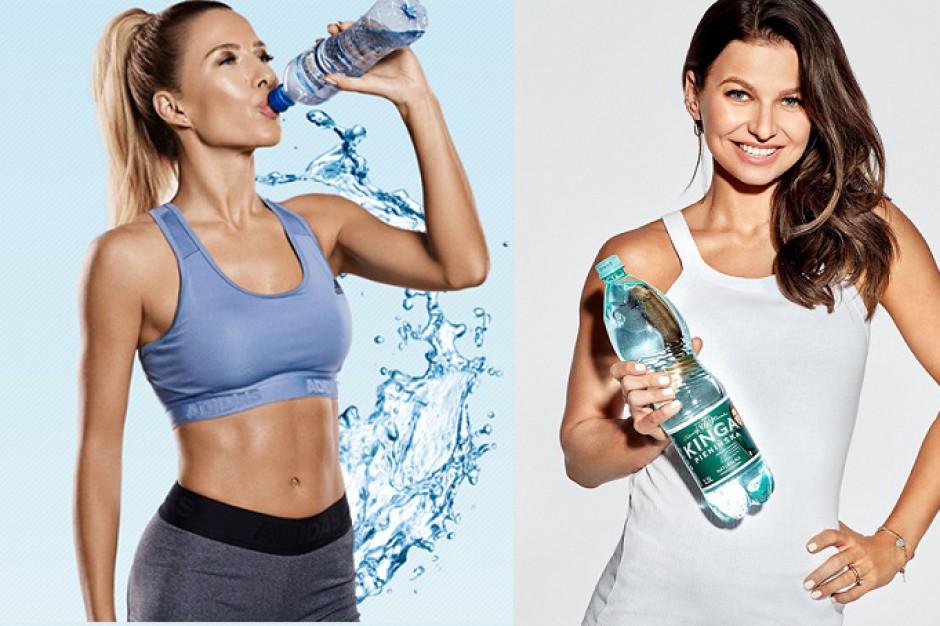 Po batonach Lewandowska i Chodakowska konkurują na rynku wody