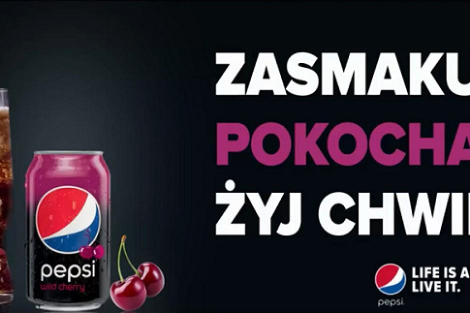 Pepsi Wild Cherry i Lime wsparte kampanią w mediach