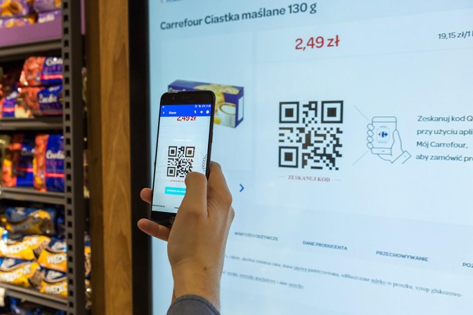 Carrefour poszerza usługi zakupów internetowych o m-commerce i dostawę tego samego dnia