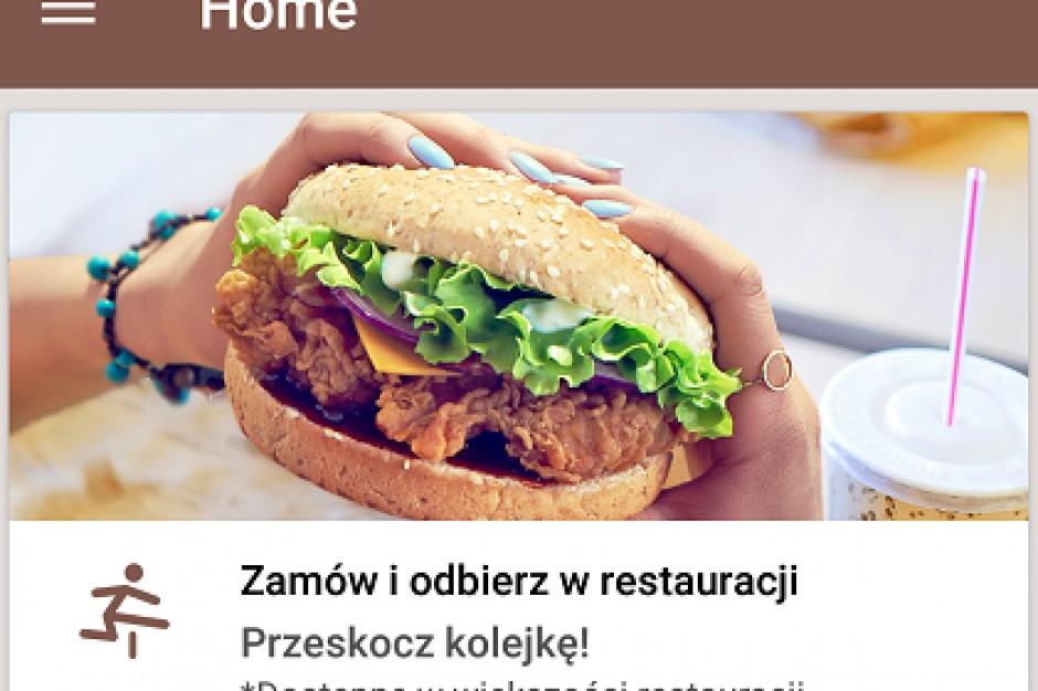 KFC z aplikacją zamów online, odbierz bez kolejki