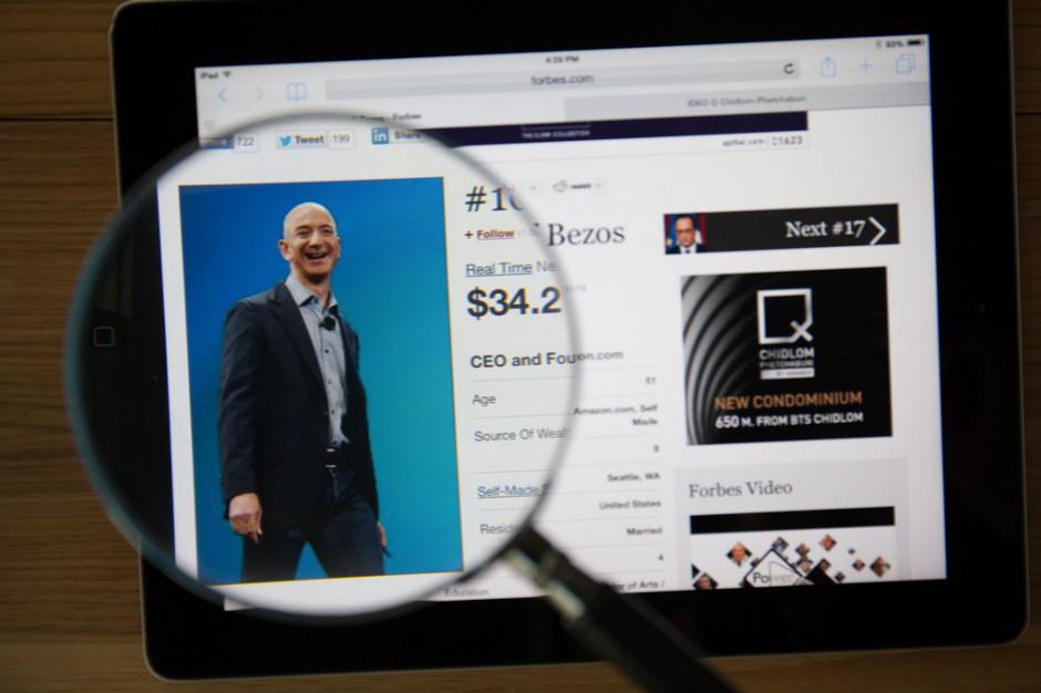 Amazon najcenniejszą marką świata. Wyprzedził Apple'a i Google