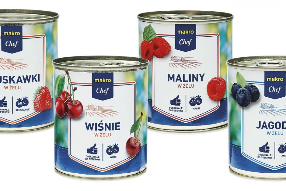 Makro Polska wprowadza setki produktów pod markami własnymi dla gastronomii