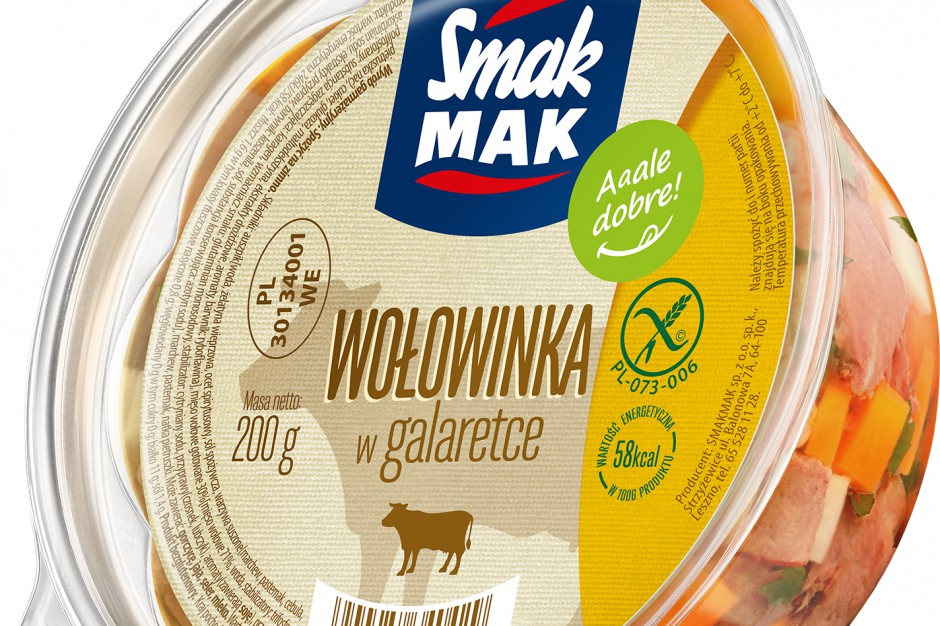 Wołowinka w galaretce marki SmakMAK
