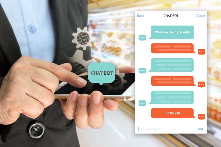 Chatbot wybiera dla klienta wino w angielskim Lidlu