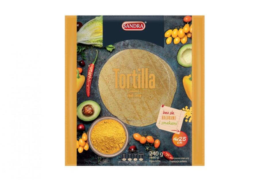 Nowości od marki Sandra – tortille w trzech smakach