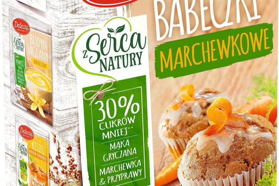 Babeczki marchewkowe od marki Delecta