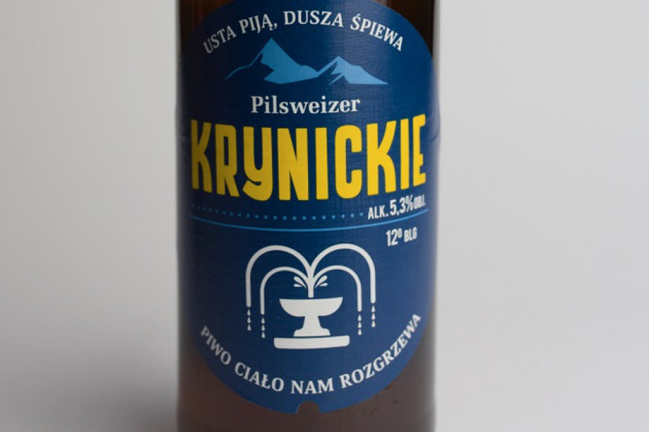 Piwo Krynickie od Pilsweizera