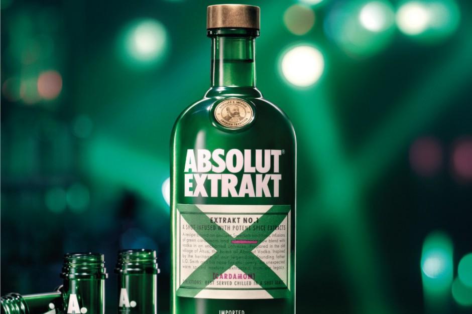 Zielona nowość od marki Absolut