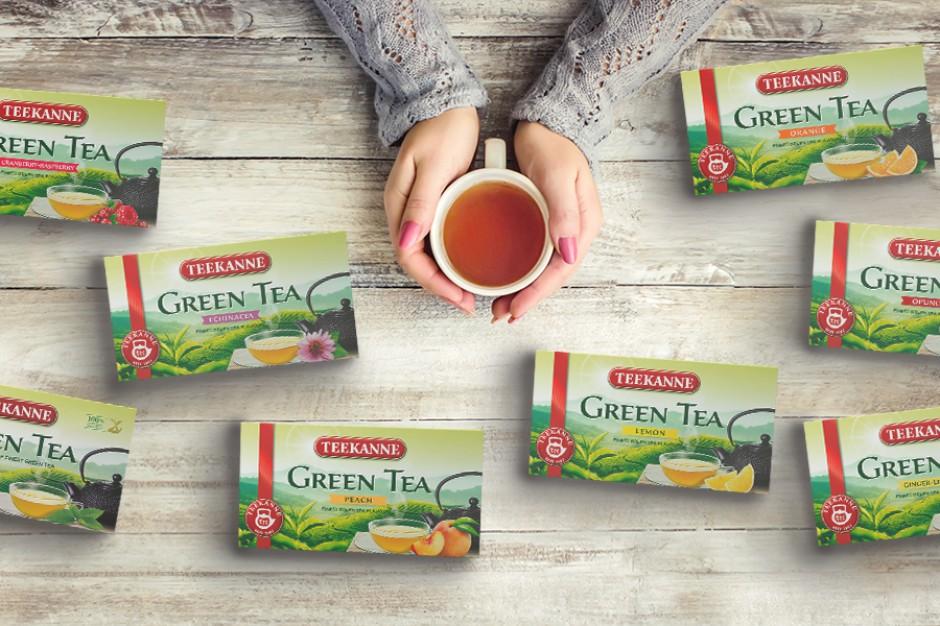 Zielone herbaty Teekanne w nowym wydaniu