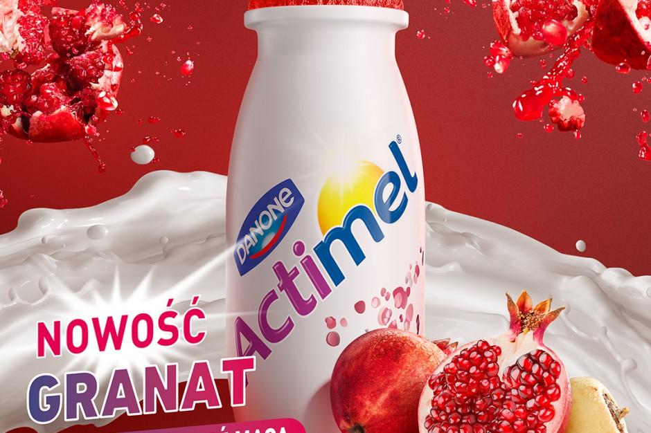Actimel w nowych smakach z reklamowym wsparciem