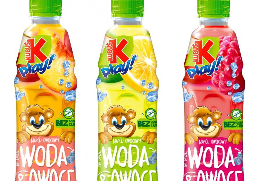 Nowość od Kubusia – Play! Woda&Owoce bez dodatku cukru
