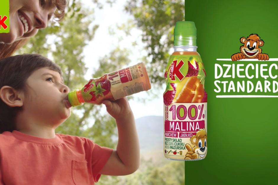 Nowa kampania soków Kubuś