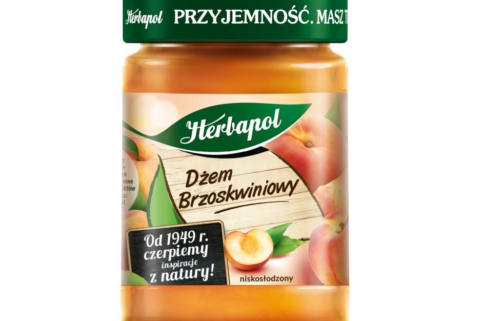 Nowy Dżem Brzoskwiniowy od marki Herbapol