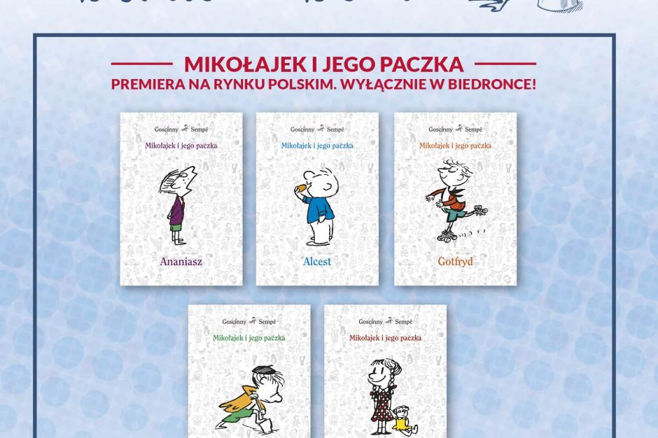 Biedronka ma wyłączność na sprzedaż nowych książek z serii o Mikołajku