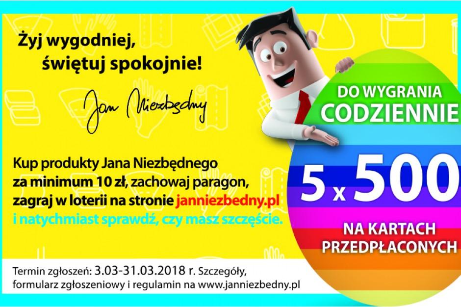 Marka Jan Niezbędny wspiera sprzedaż loterią