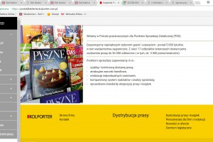 Kolporter uruchomił bezpłatny portal dla sprzedawców