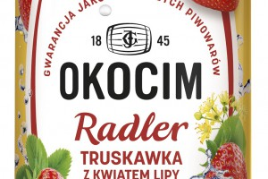 Radler Truskawka z kwiatem lipy - nowość od marki Okocim