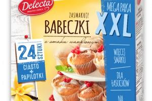 Babeczki XXL Delecta – megapaka dla łasuchów