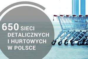 Oto lista 650 największych sieci detalicznych i hurtowych w Polsce