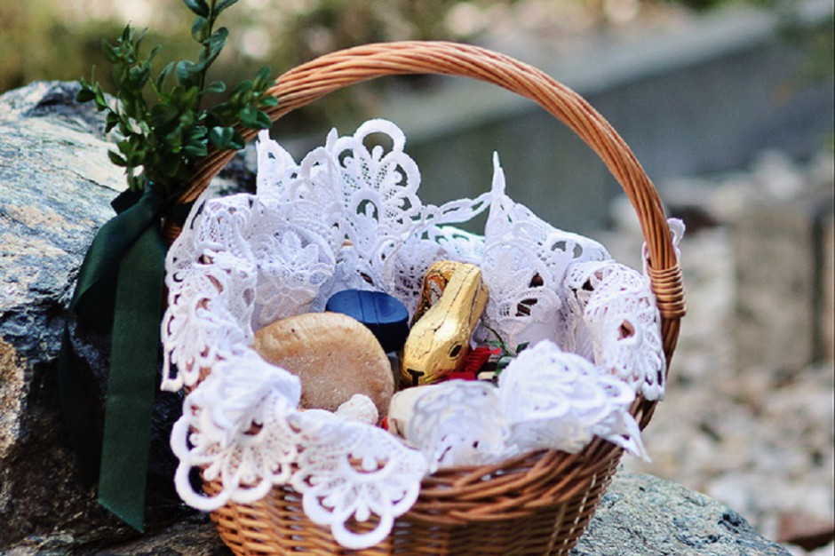 """Co symbolizują produkty wkładane do tradycyjnej """"święconki""""?"""
