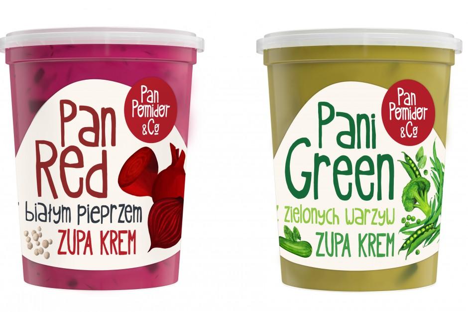 Pan Pomidor rozszerza kategorię dań gotowych o dwie nowe zupy