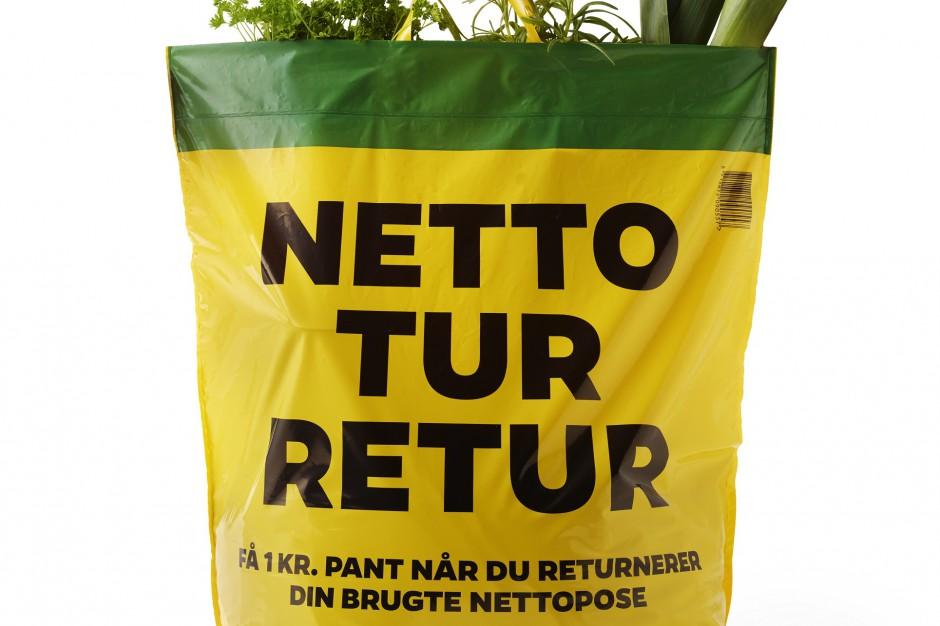 Netto wprowadza kaucję za torebki foliowe