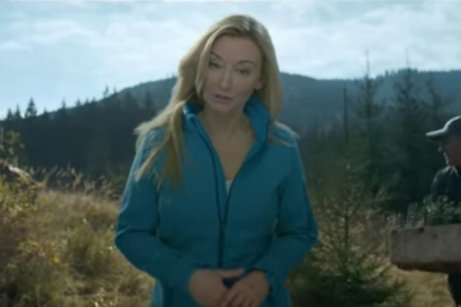 Martyna Wojciechowska w kampanii wody Żywiec Zdrój
