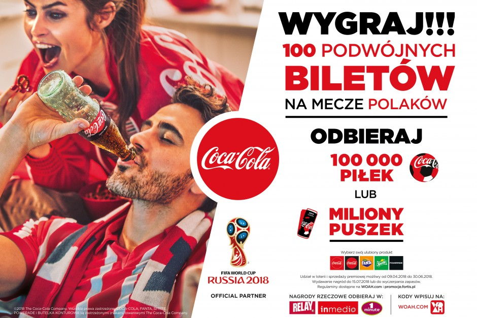 Coca-Cola startuje z piłkarską kampanią reklamową