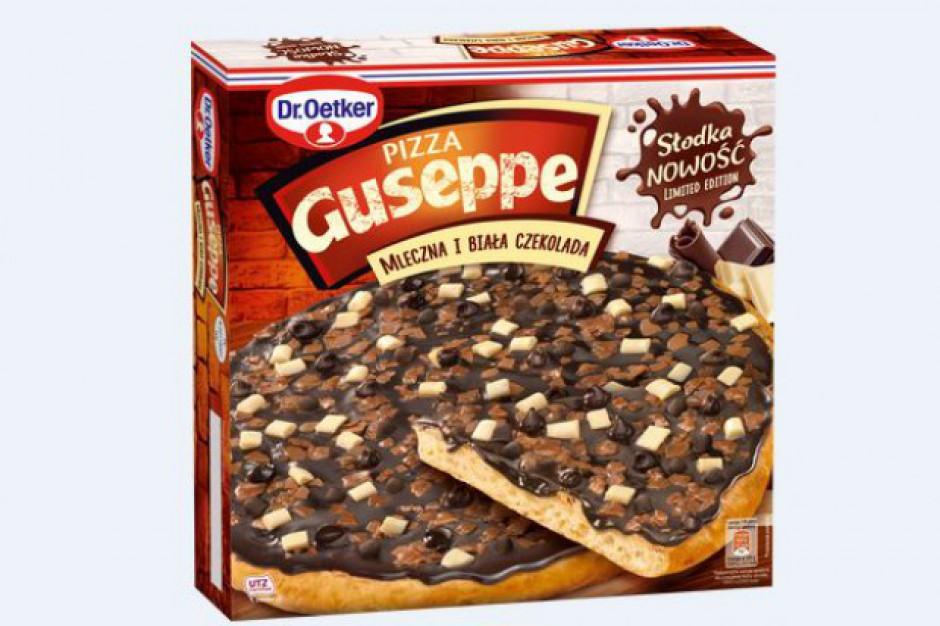 Dr. Oetker promuje nową pizzę czekoladową