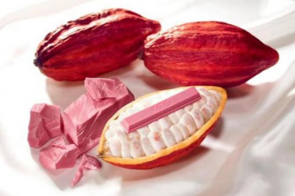 Różowa czekolada KitKat zadebiutuje w Europie w brytyjskich sklepach Tesco
