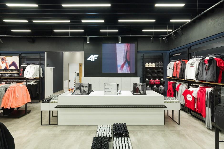 Marka 4F otwiera sezon nowym konceptem sklepów (galeria)