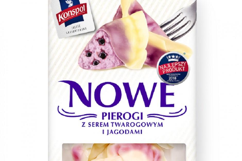 """Pierogi """"Nowe"""" od Konspolu z innowacyjną recepturą ciasta"""