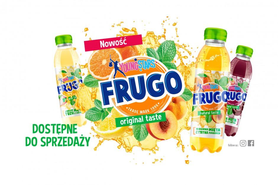 Frugo Young Stars - nowa linia napojów owocowych