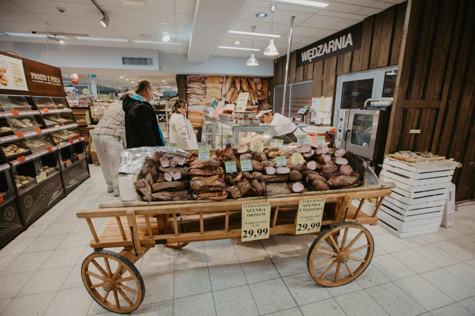 Centrum Mięsne - nowy projekt sklepu Eurospar w Cieszynie (galeria)