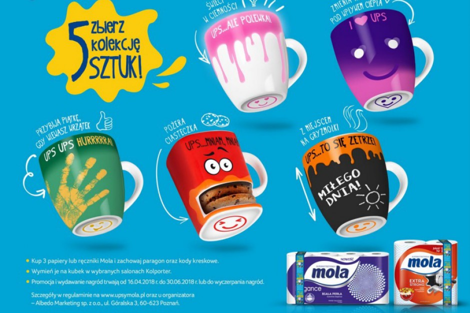 Nowa akcja marki Mola w salonikach Kolportera