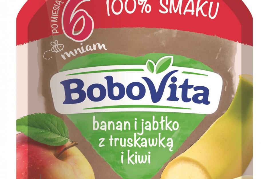 Trzy nowe smaki musów owocowych dla niemowląt od BoboVity