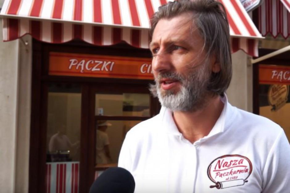 Były reprezentant Polski w piłce nożnej otworzył pączkarnię