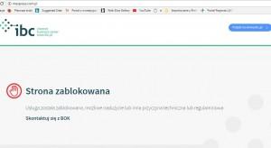 Strony Małpki Express i Mexpress były zablokowane przez dostawcę usług