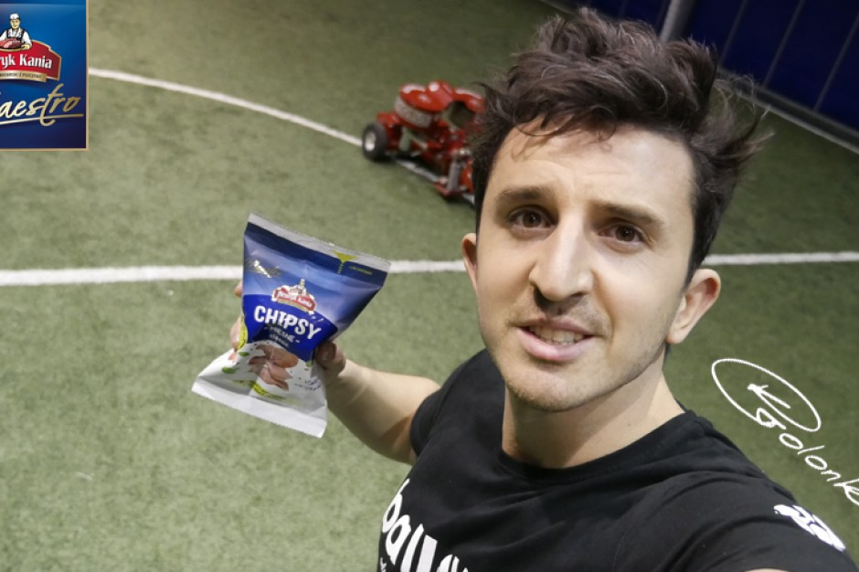 Krzysztof Golonka promuje produkty ZM Henryk Kania
