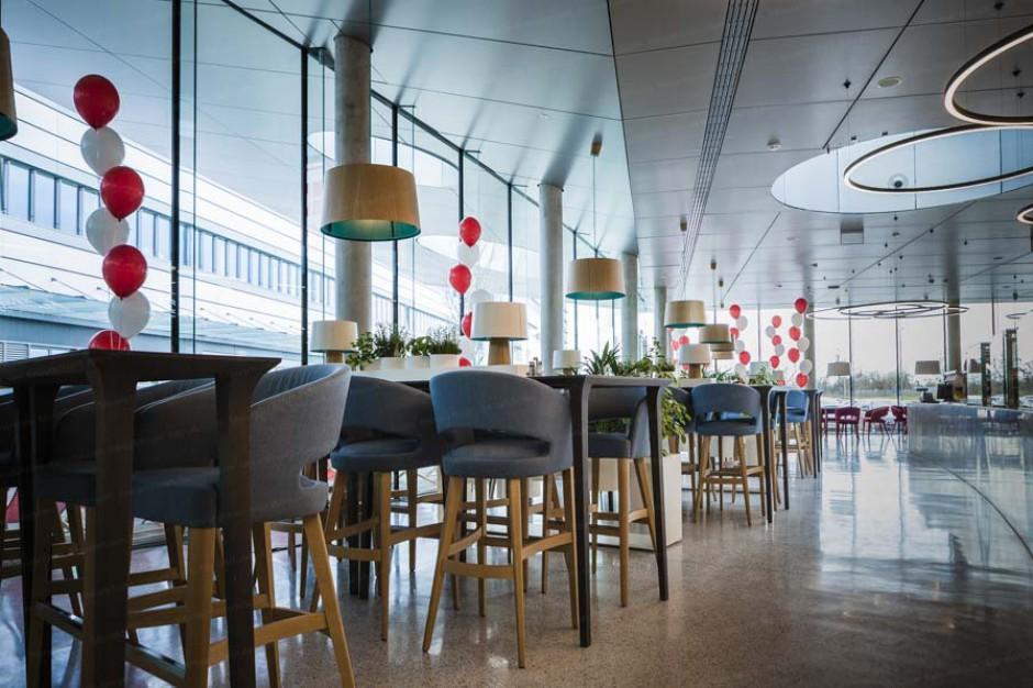 Restauracja, sala fitness i pokój kreatywny dla pracowników centrali Kaufland
