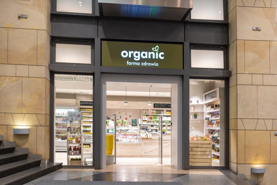 Organic Farma Zdrowia w CH Złote Tarasy w nowym koncepcie